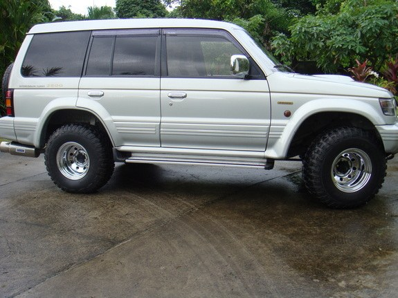 Moi101 1998 Mitsubishi Pajero Specs  Photos  Modification
