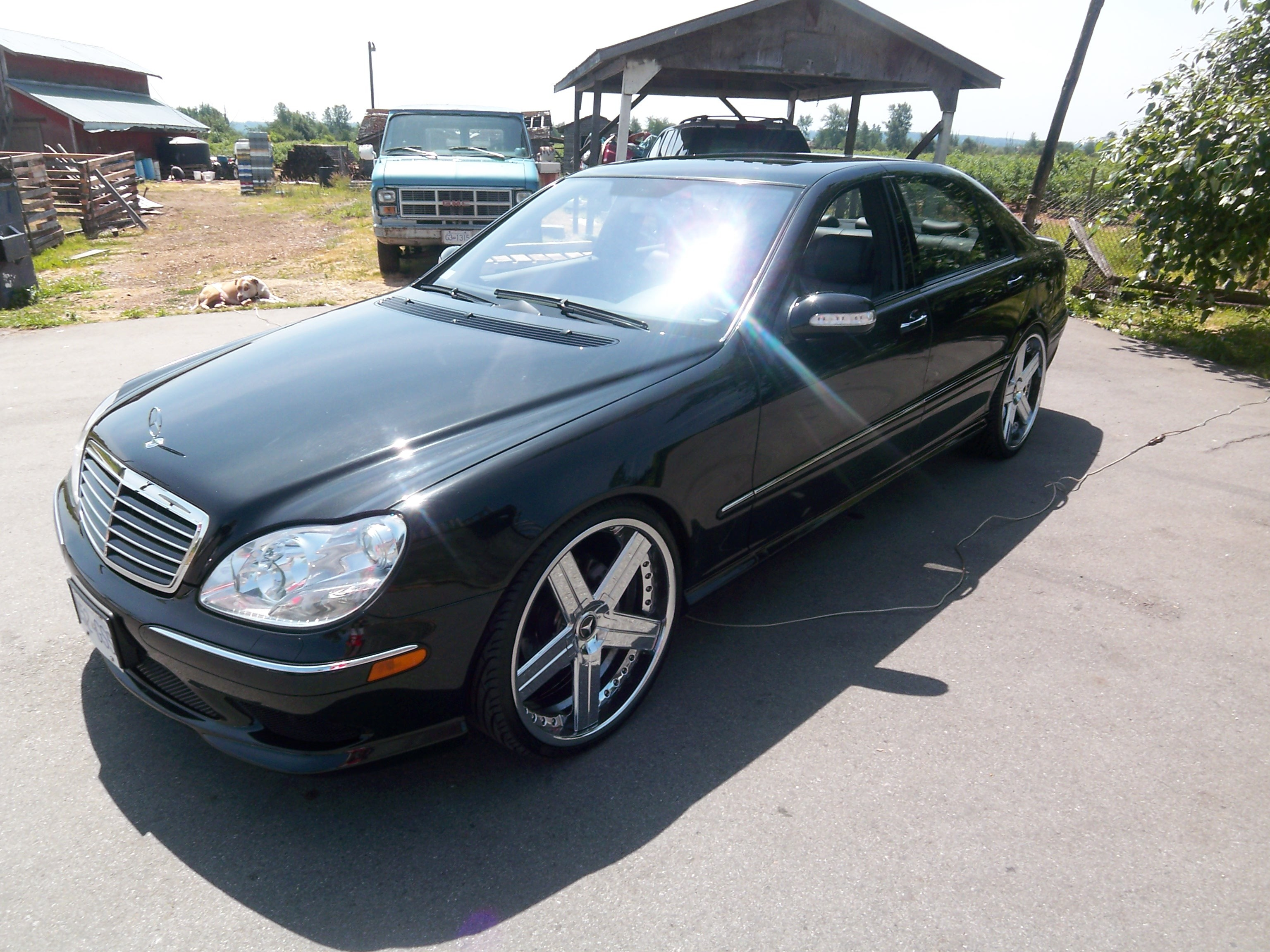 renee04benz 2004 mercedes benz s class specs photos modification info at cardomain. Black Bedroom Furniture Sets. Home Design Ideas