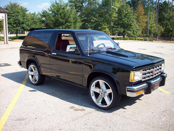 Freddybear21 1986 Chevrolet S10 Blazer Specs Photos