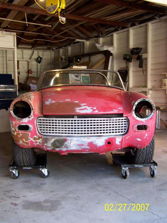 Another nosnarb 1965 Austin-Healey Sprite post... - 11871662