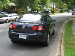 aflaedges 2007 Volkswagen Eos