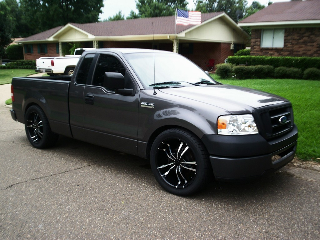 lowered06 2006 ford f150 regular cab specs photos modification info at cardomain. Black Bedroom Furniture Sets. Home Design Ideas