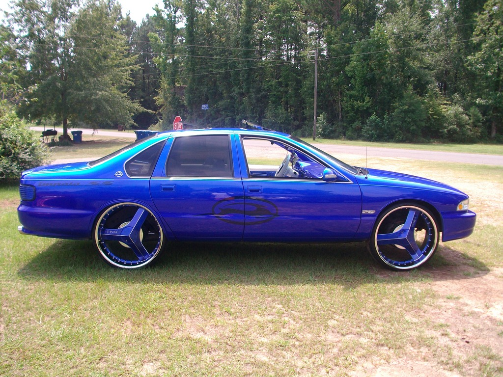 Another Stratus4me 1995 Chevrolet Caprice Post894000 By Wiring Diagram No Base Used On Rims Straight Kandy Over Prepped Chrome To Make It Look Like