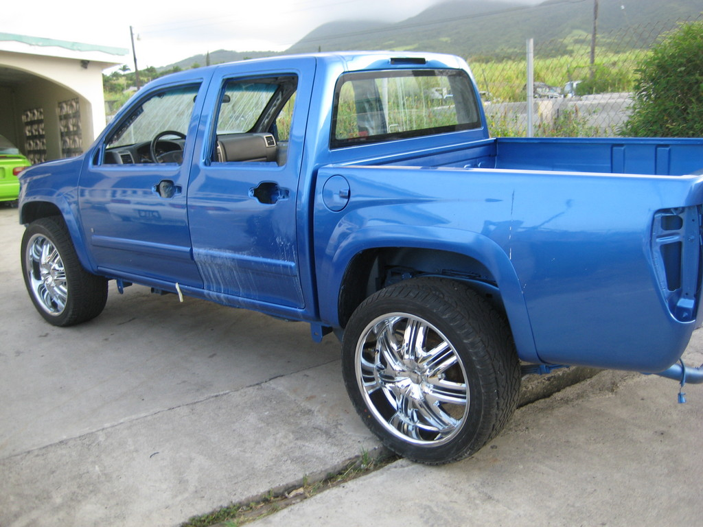 dizza da prez 2007 chevrolet colorado regular cab specs photos modification info at cardomain. Black Bedroom Furniture Sets. Home Design Ideas