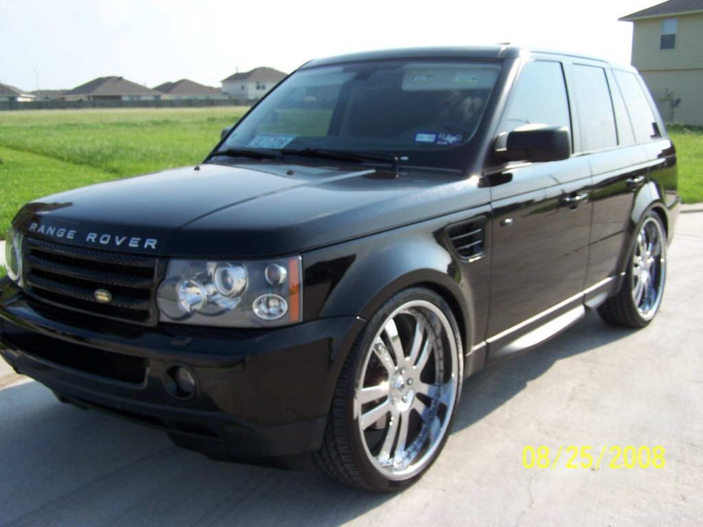 rangeon24s 2008 land rover range rover sport specs photos. Black Bedroom Furniture Sets. Home Design Ideas