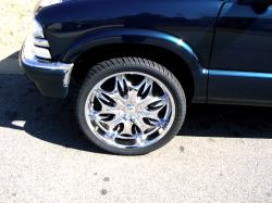 Trays-Blazs 1999 Chevrolet Blazer