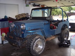1953 Willys CJ2A