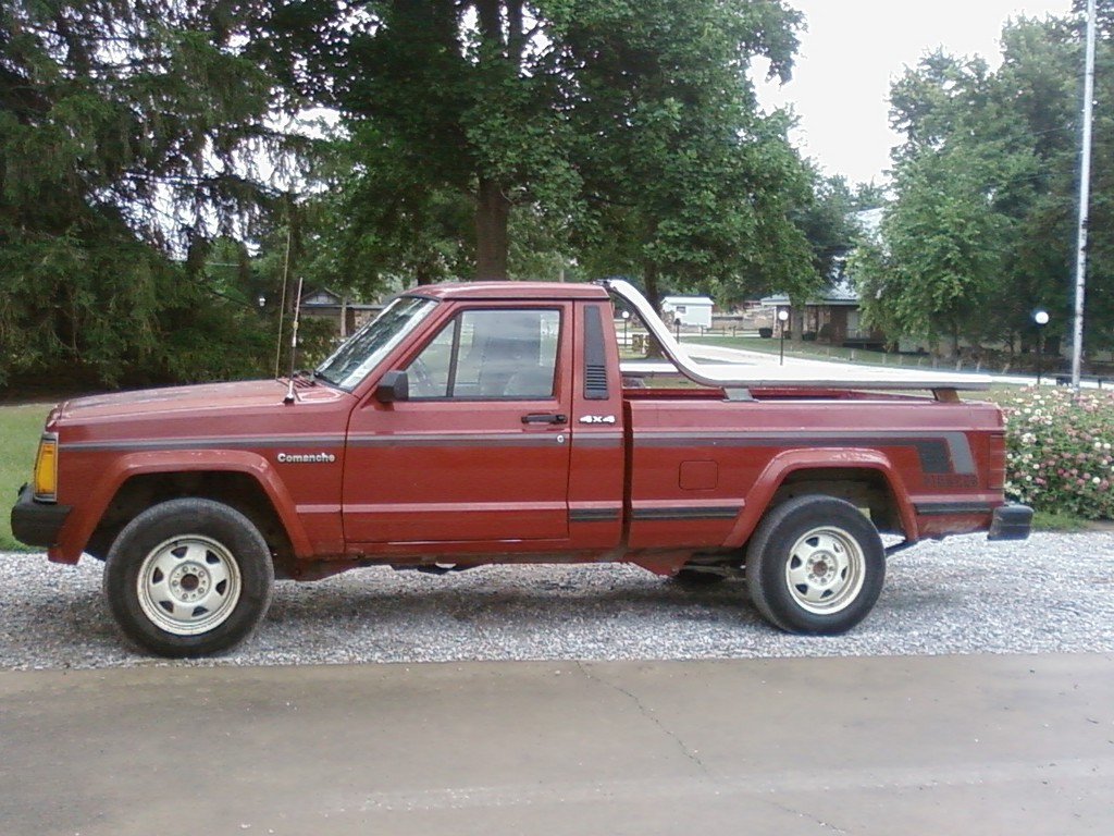 mstangfan 1988 jeep comanche regular cab specs  photos