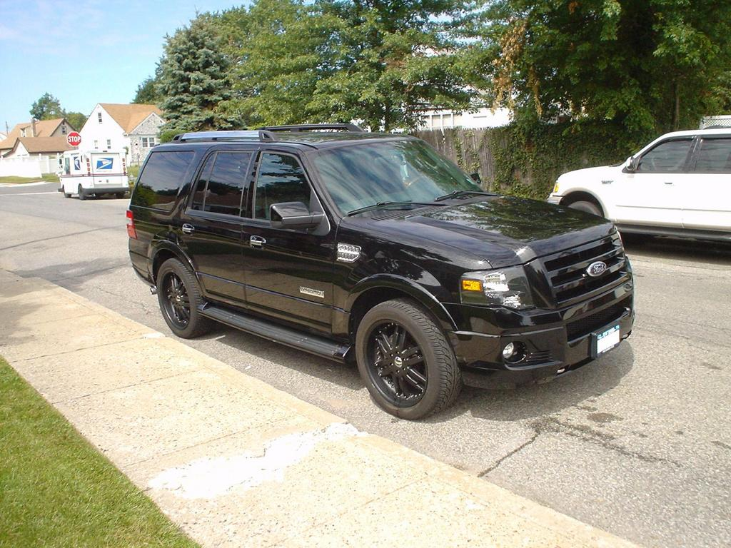Blacked Out Ford Expedition >> bmfd715 2007 Ford ExpeditionLimited Sport Utility 4D Specs, Photos, Modification Info at CarDomain