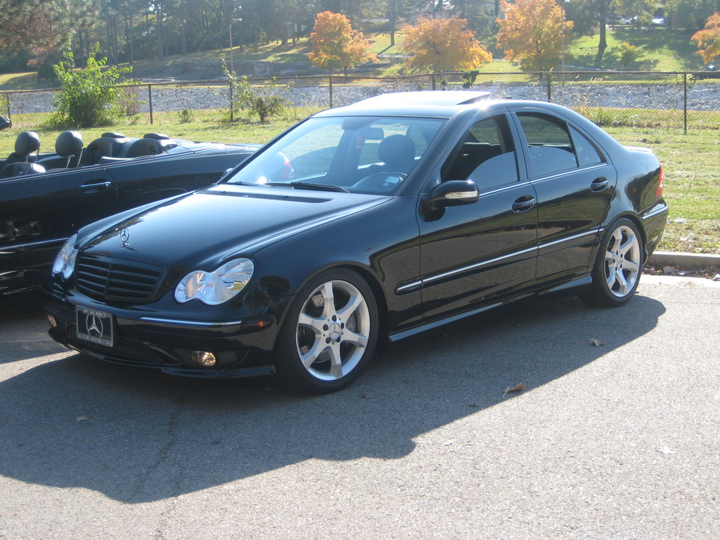 Mercedes benz c230 kompressor with amg sport package for 2005 mercedes benz c230 kompressor