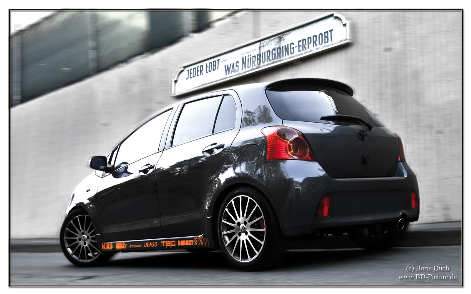 fluchtzwerg 2007 toyota yaris specs photos modification. Black Bedroom Furniture Sets. Home Design Ideas