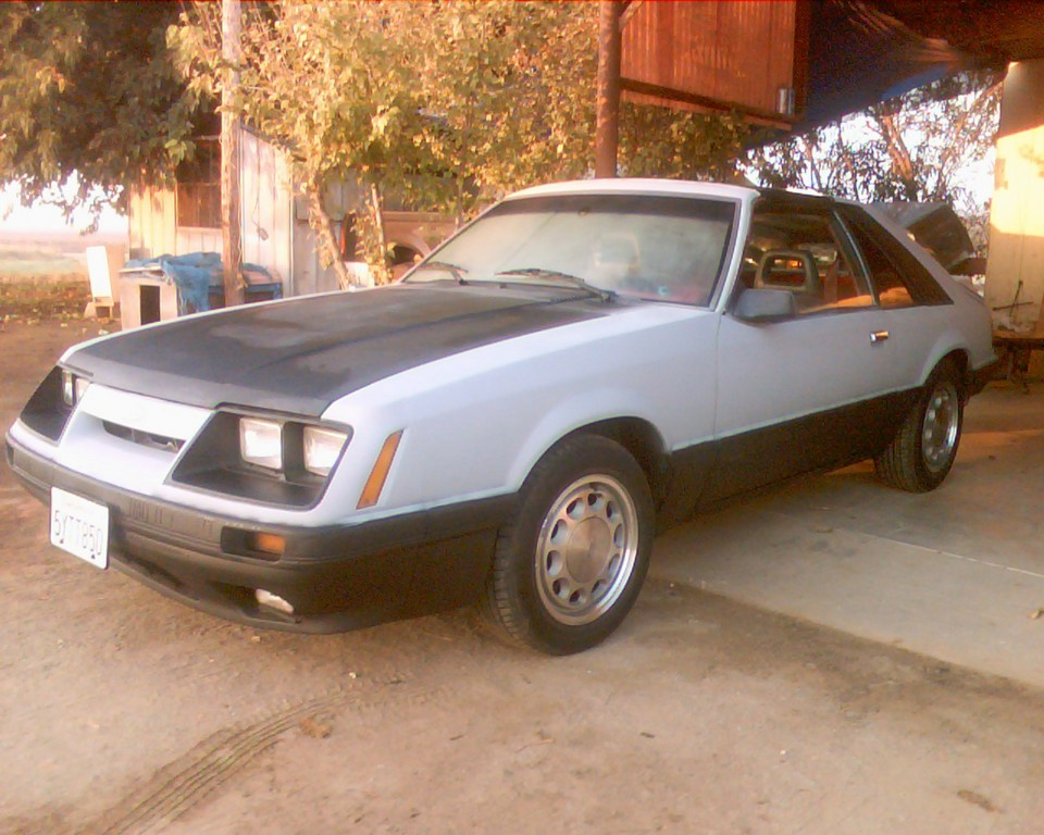 Mystang-gt 1986 Ford Mustang 18822066