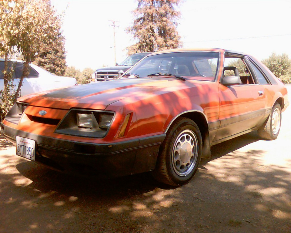 Mystang-gt 1986 Ford Mustang 18823658