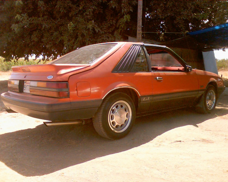 Mystang-gt 1986 Ford Mustang 18823684