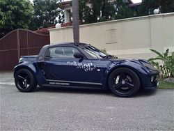 seanie 2005 smart roadster