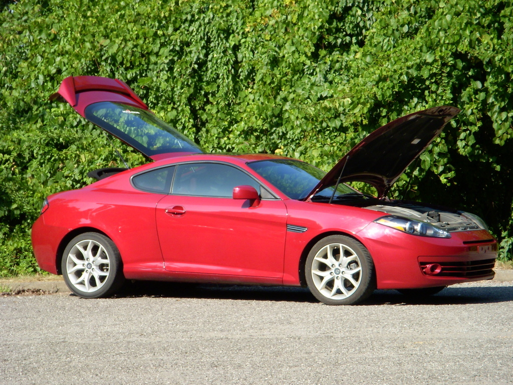 morbidking 2007 hyundai tiburon specs photos. Black Bedroom Furniture Sets. Home Design Ideas