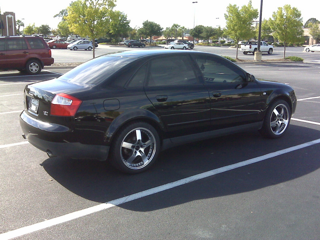 livin large 2003 audi a4 specs photos modification info at cardomain. Black Bedroom Furniture Sets. Home Design Ideas