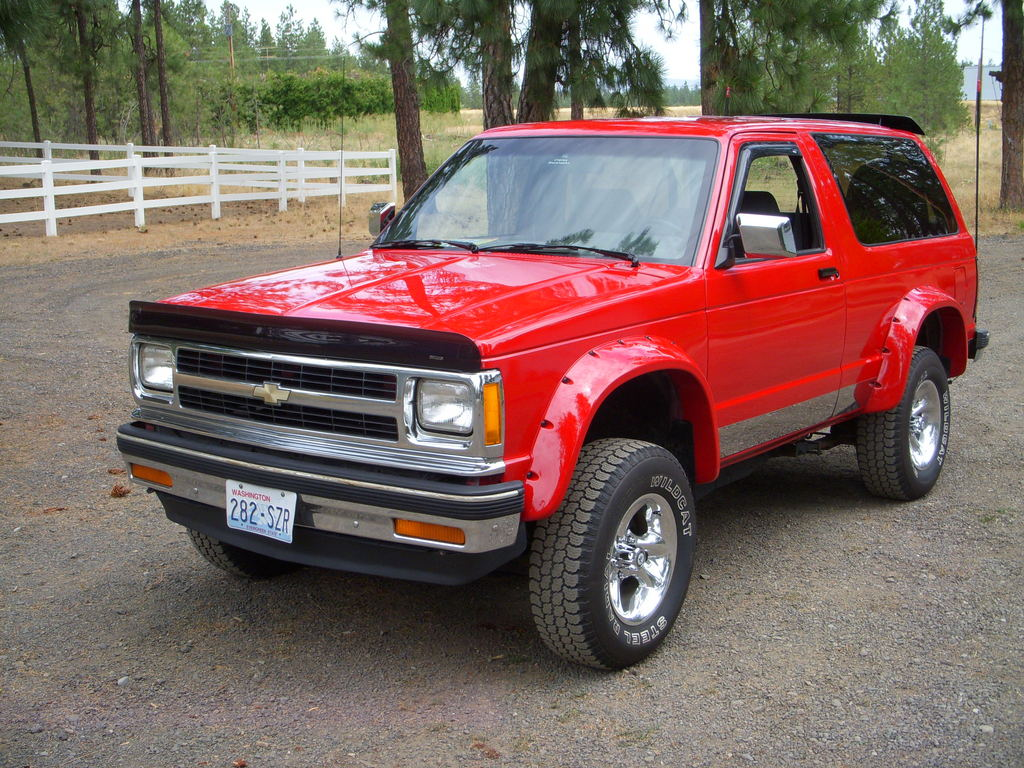 Chevyhickkid 1991 Chevrolet S10 Blazer Specs Photos Modification 1500 Wiring Diagram Free Download 31469130001 Large