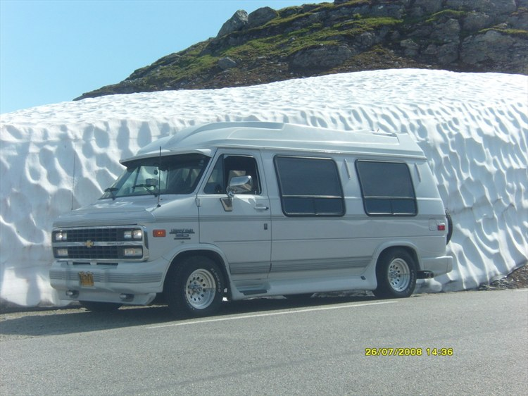 Large on 1995 Dodge Ram Van