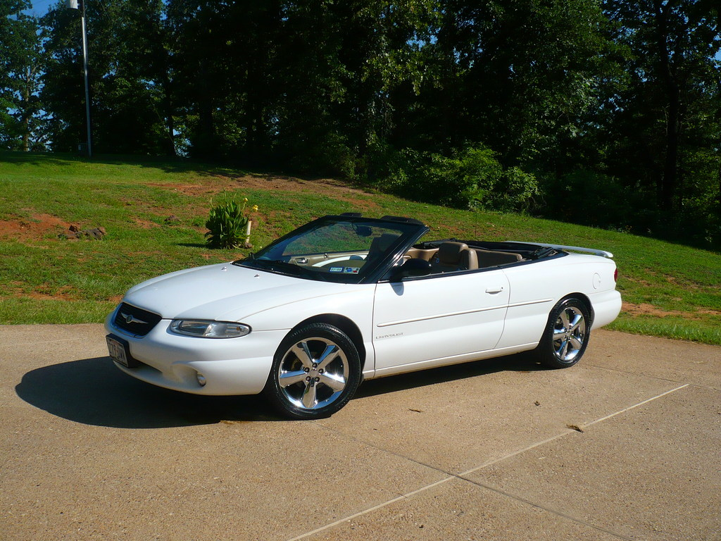 jsimcik 39 s 2000 chrysler sebring jxi convertible 2d in big sandy tx. Black Bedroom Furniture Sets. Home Design Ideas