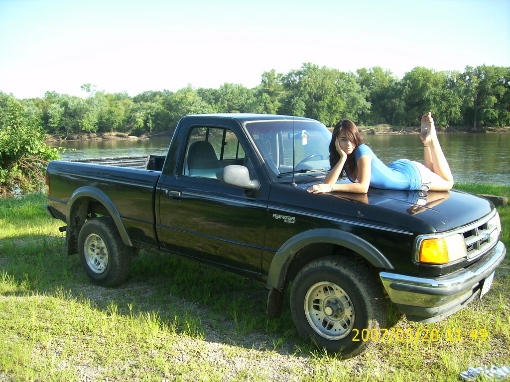 girl ina truck21 1994 ford ranger regular cab specs photos modification  info at cardomain 96 dodge