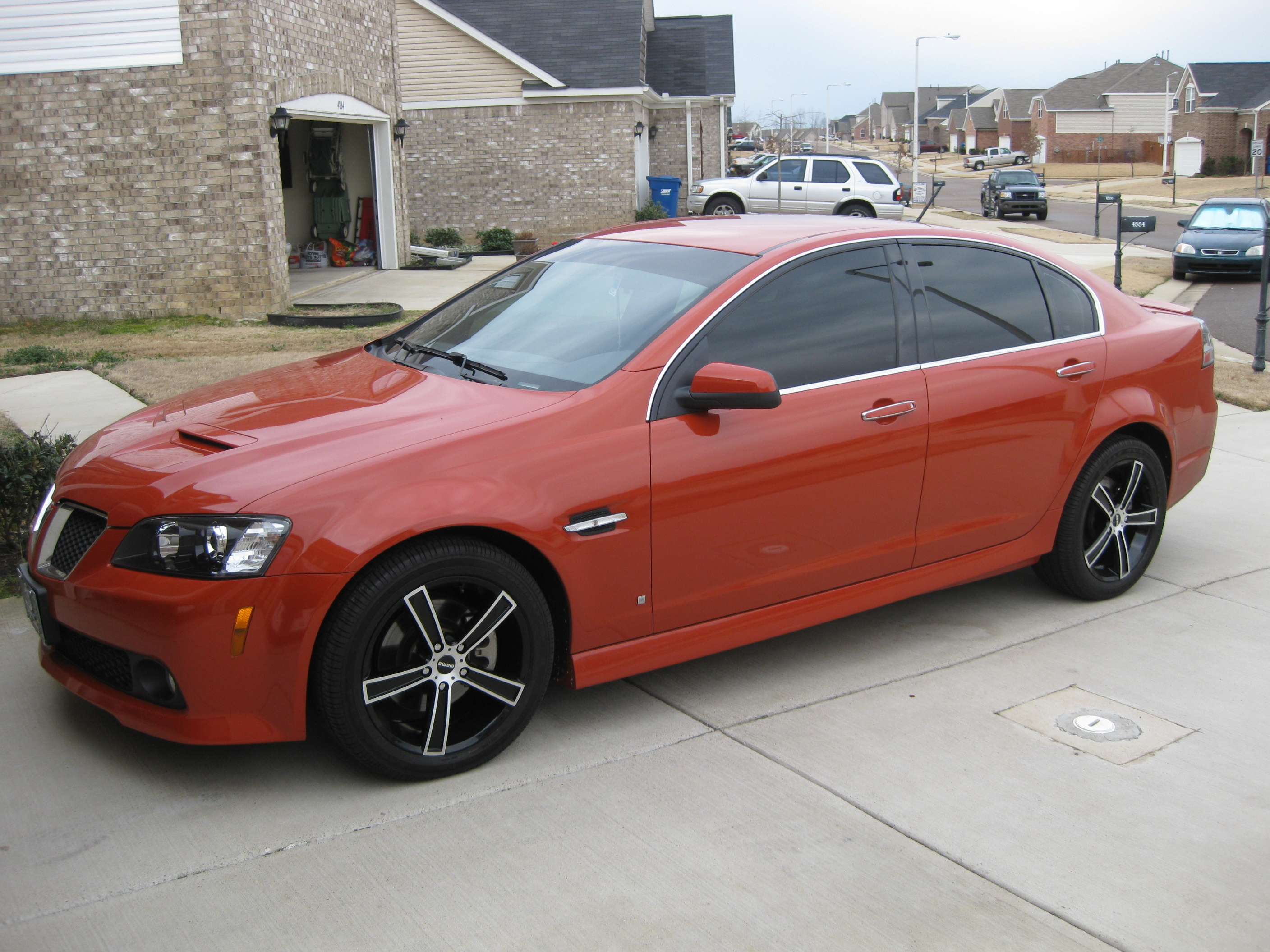 Acez28 2008 Pontiac G8 Specs Photos Modification Info At