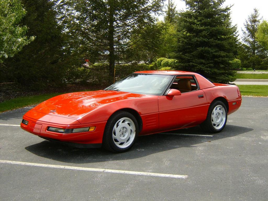 Novabig S 1991 Chevrolet Corvette Convertible 2d In Fort