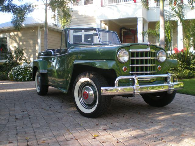 ase93 1950 Willys Jeepster