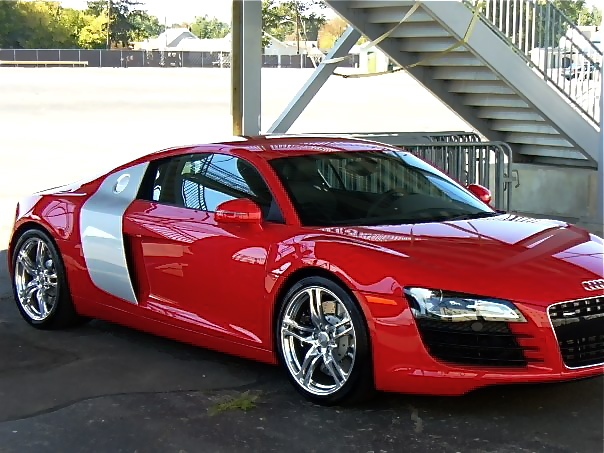 2009 audi r8 red 200 interior and exterior images. Black Bedroom Furniture Sets. Home Design Ideas
