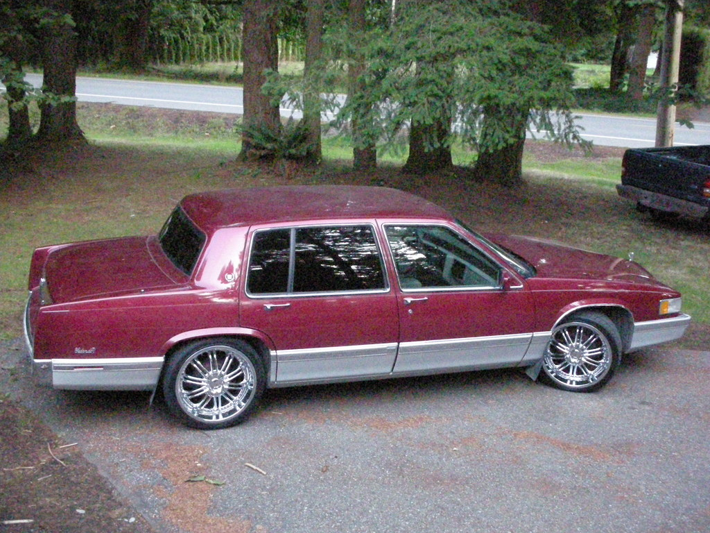 93-caddy's 1993 Cadillac DeVille