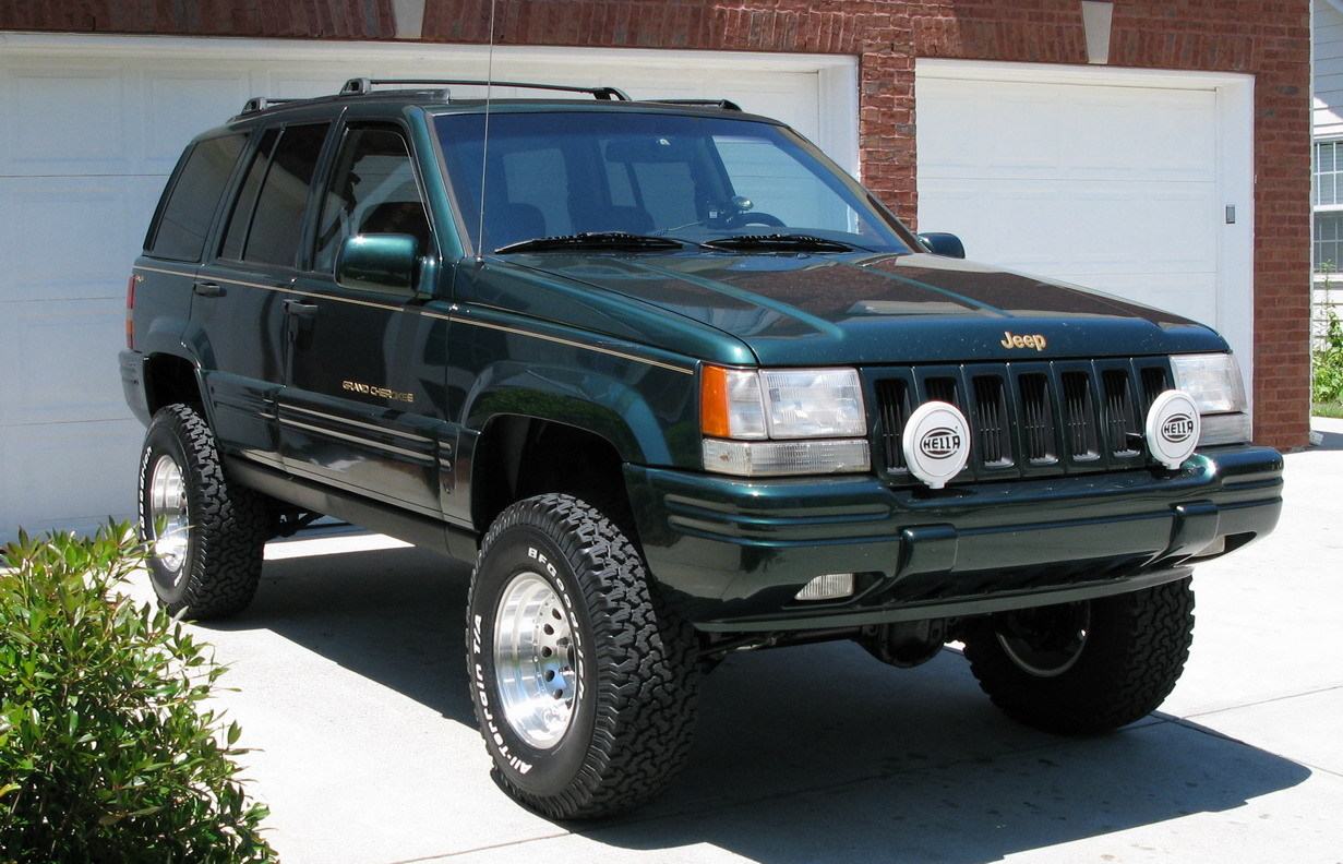 ajeeper 1997 jeep grand cherokee specs photos modification info at cardomain. Black Bedroom Furniture Sets. Home Design Ideas