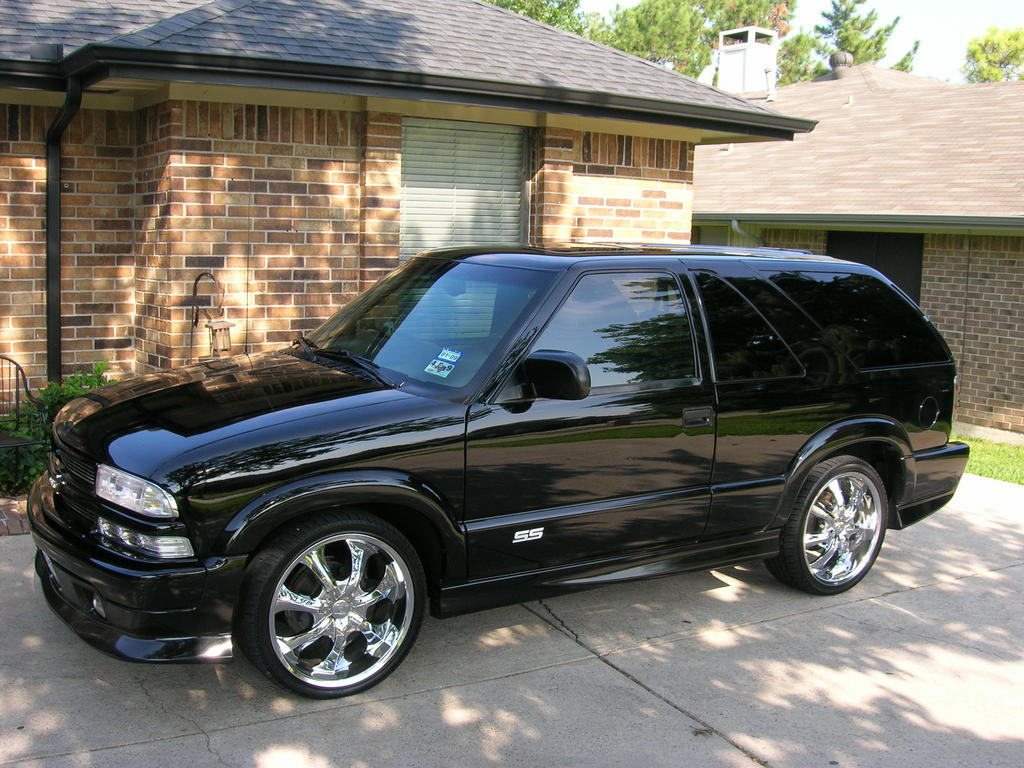 2001 chevy blazer trailblazer edition