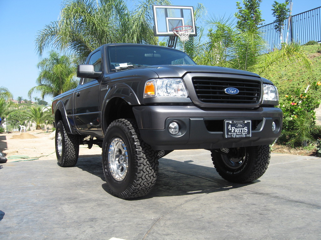 08rangerriversid 2008 ford ranger regular cab 31524870001_large - Lifted 2008 Ford Ranger