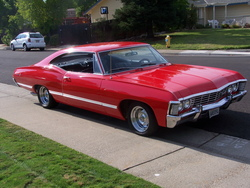 Steeler_fan67s 1967 Chevrolet Impala
