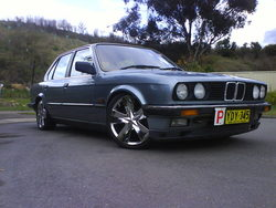 101841s 1985 BMW 3 Series