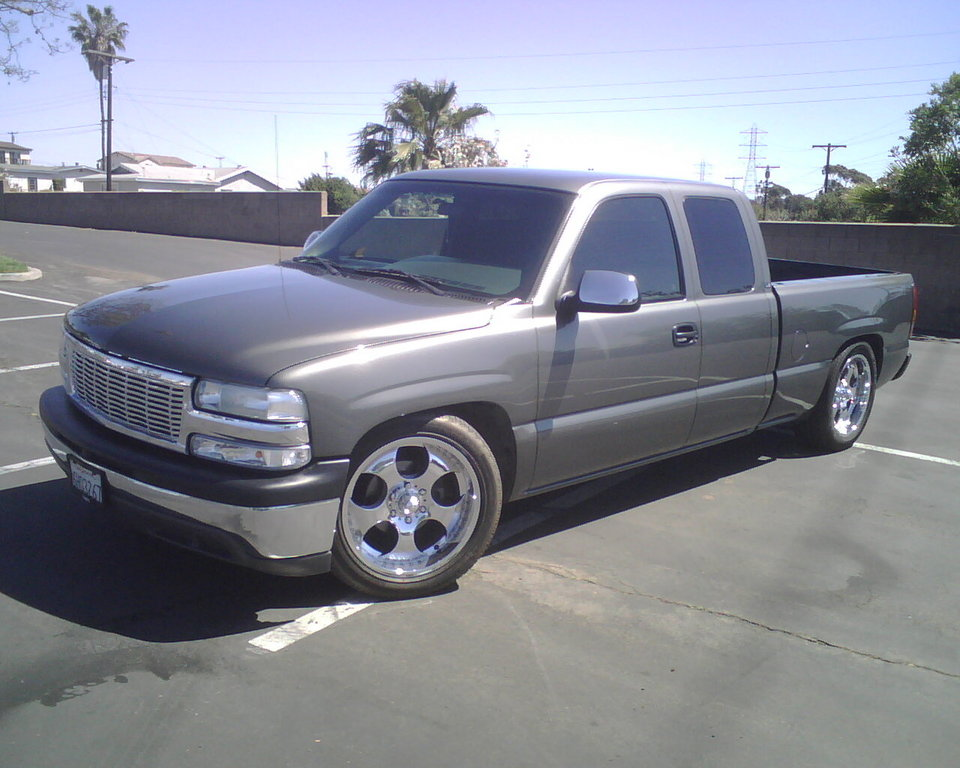 smokedoutsilvy 2001 chevrolet silverado 1500 regular cab. Black Bedroom Furniture Sets. Home Design Ideas