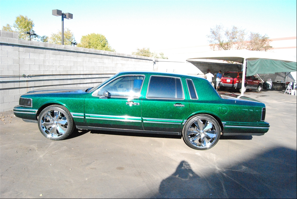 lincoln features car left red rear wine lowrider town magazine