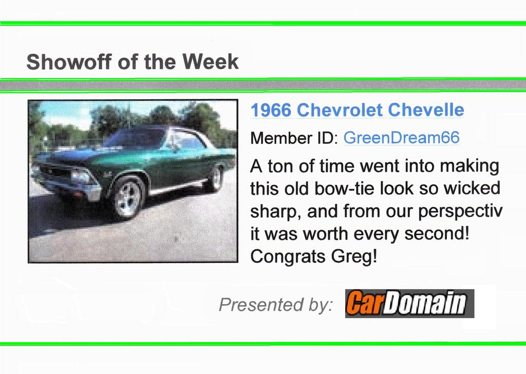 GreenDream66 1966 Chevrolet Chevelle 12007653