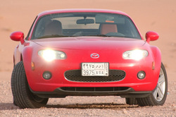 six-wheelers 2008 Mazda Miata MX-5