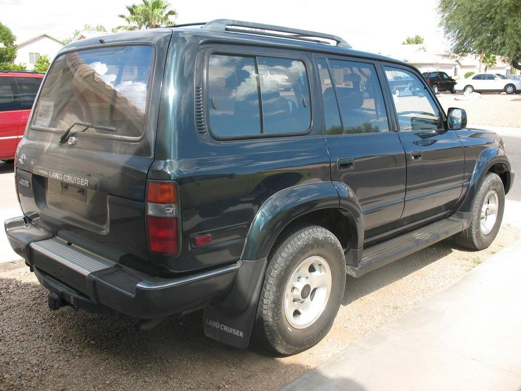 luv24by 1993 toyota land cruiser specs photos. Black Bedroom Furniture Sets. Home Design Ideas