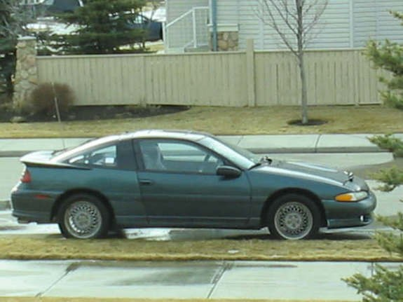 This Is My 92 Eclipse It Has A Eagle Talon Bumper On But Soon To