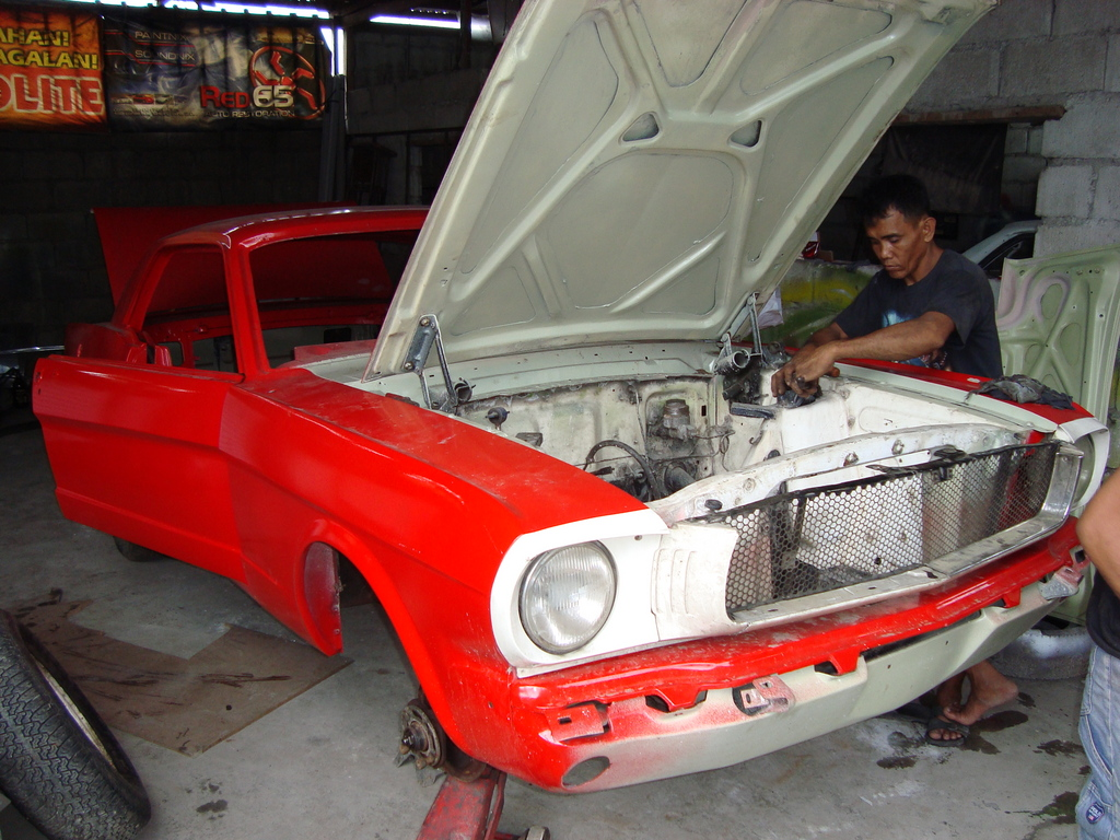 RED65SHOP 1965 Ford Mustang