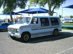 ShowVanists 1987 Ford Econoline E150 Passenger