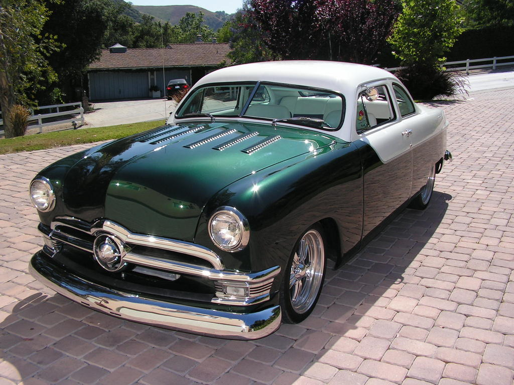Moparposterchild 1950 Ford Coupe Specs Photos
