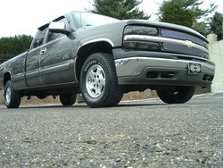 02chevypickup90s 2002 Chevrolet Silverado 1500 Regular Cab