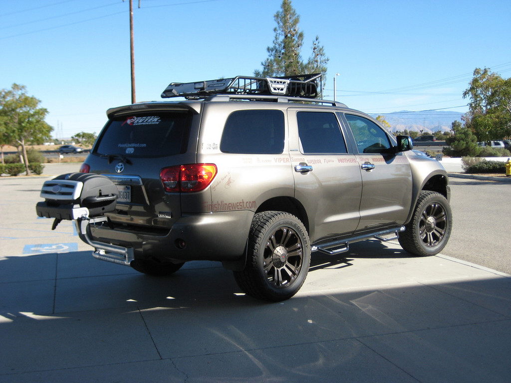 Finishlinewest 2008 Toyota Sequoia Specs Photos
