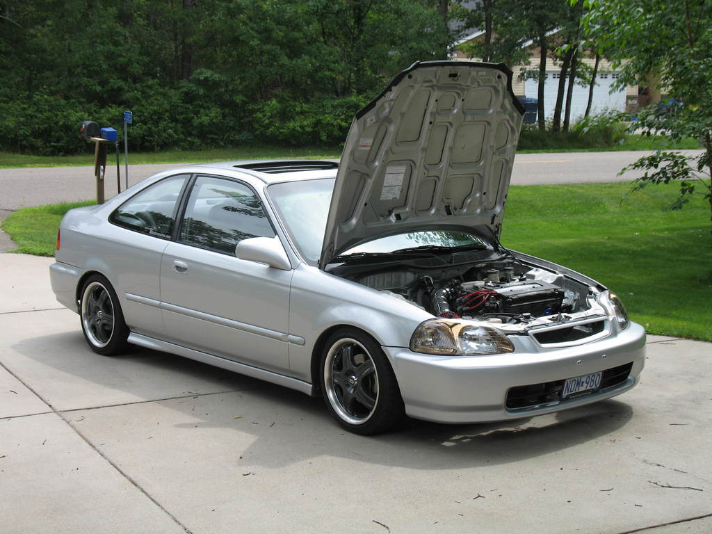 97 honda civic ex coupe jdm galleryhip     the hippest