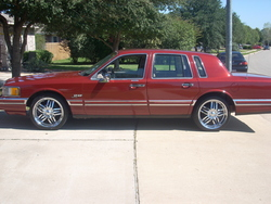 1990+lincoln+town+car+interior