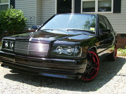 DARKSIDE190 1988 Mercedes-Benz 190-Class