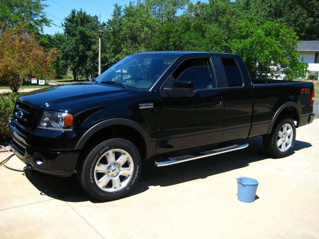 bcarlson 2008 ford f150 regular cab specs photos modification info at cardomain. Black Bedroom Furniture Sets. Home Design Ideas